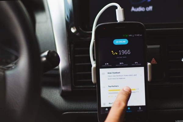 how to pay for uber driver